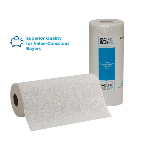 Preference Kitchen Roll Towel, Perforated, 2 Ply, White | Roll Towels | Paper  Towels | Room Supplies | Open Catalog | American Hotel Site