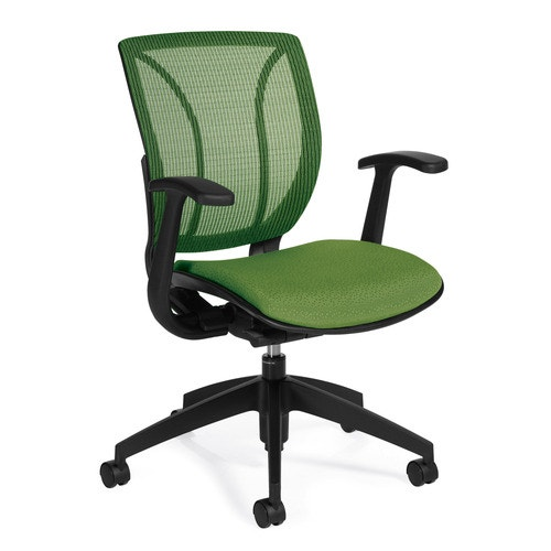 Global Furniture Group Roma Mesh Back Posture Arm Chair Spring