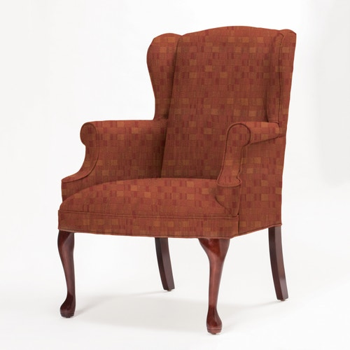 Excellent Wingback Lounge Chair A C Furniture Queen Anne Legs Gamerscity Chair Design For Home Gamerscityorg