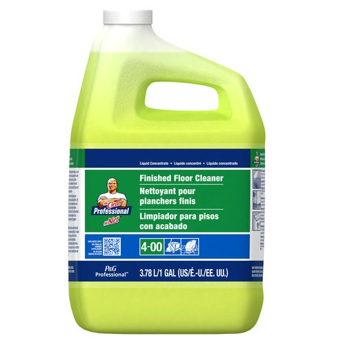 Mr Clean Finished Floor Cleaner Concentrate 1 Gal Dilution