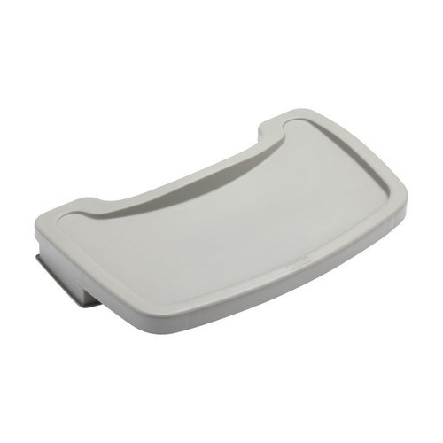 Groovy Rubbermaid Commercial Products Sturdy Chair Tray 18 5 W X 11 5 L X 3 25 H Platinum Caraccident5 Cool Chair Designs And Ideas Caraccident5Info