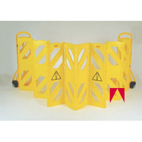 Rubbermaid Commercial Products Portable Safety Barrier 13