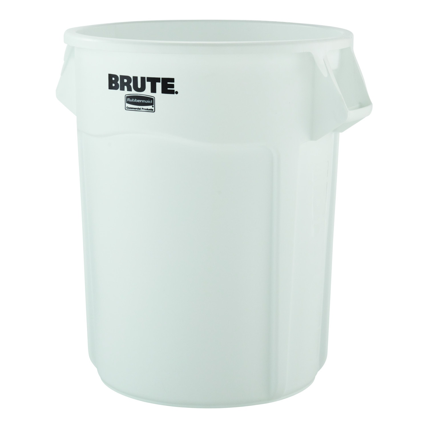 No Lid Rubbermaid Commercial Products Brute Garbage 32-Gallon Gal Bin Trash Can