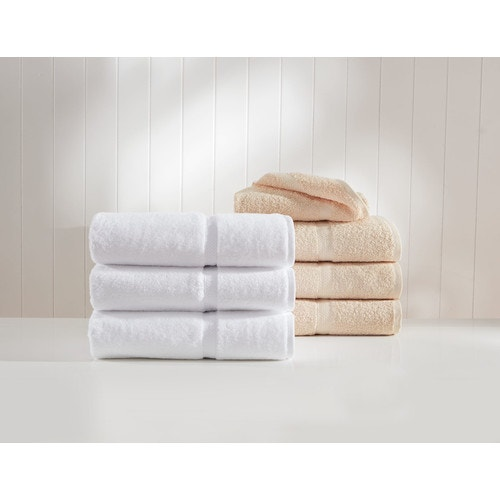 1888 Mills Crown Touch Dobby Border Bath Towel, 27