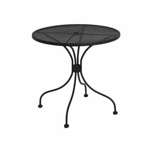 Superb Table 30 Inch Round Micro Mesh Wrought Iron Theyellowbook Wood Chair Design Ideas Theyellowbookinfo