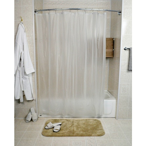 shower curtain liner 72 x 72 frost clear
